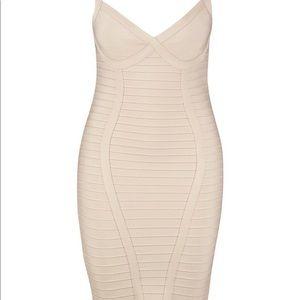 Boohoo fishtail bandage dress